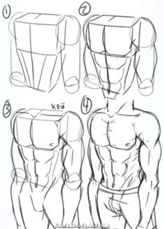 10 easy pencil drawing lessons for beginners Drawing Body Poses, Guy Drawing, Drawing Reference Poses, Anatomy Reference, Drawing People, Drawing Muscles, Drawing Faces, Drawing Hair, Hand Reference