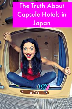 Everything you could want to know as a woman about finding and staying in a capsule hotel in Tokyo, Japan