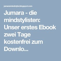 Jumara   Die Mindstylisten: Inspiration Für Den Tag | Weisheiten, Sprüche,  Impulse Und Affirmationen | Pinterest | Fur, Tags And Inspiration