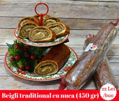 This sweet nut bread is a Hungarian traditional dessert perfect for Christmas, winter holidays or Easter holidays. Nut Loaf, Easter Holidays, Mocca, Christmas Goodies, Sausage, Bread, Traditional, Winter, Ethnic Recipes