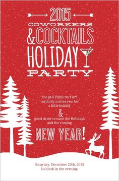 18 Best Office Christmas Party Invitation Wording Ideas Images