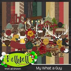 My What A Guy - Kellybell Designs