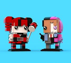 BrickHeadz Comp 9: Harley Quinn & Two Face