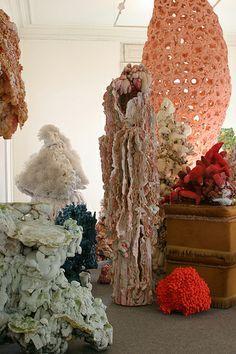 angelika arendt soft sculpture organic form large installation
