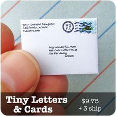 Snail Mail   Custom Tiny Mail   World's Smallest Post Service
