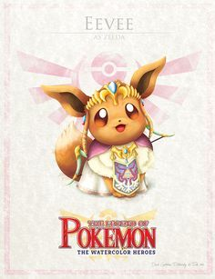 Pokemon Zelda Mashup di David Pilatowsky Eevee - Pokemon Zelda Mashup di David Pilatowsky Eevee You are in the right place about diy crafts Here we - Eevee Pokemon, Pokemon Zelda, Memes Do Pokemon, Pokemon Sets, Eevee Evolutions, Pokemon Fan Art, Baby Pokemon, Wallpaper Pokémon, Wallpaper Gallery