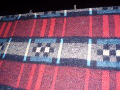 vintage blanket found on eBay U.K.