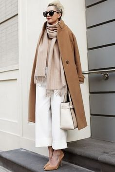 3.15 neutral territory (Mason coat + Otte sweater + Club Monaco scarf + Phillip Lim pants + Joe Fresh heels + Reed Krakoff bag)