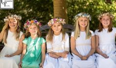 Vestidos de Comunión 2016 para niñas TERESA PALAZUELO | COMUNIÓN TRENDY :: Mil ideas para organizar una Primera Comunión :: Vestidos de comunión, Recordatorios, Trajes de Comunión