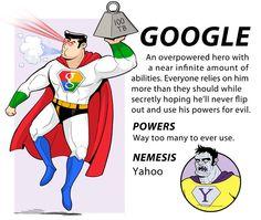 Google (Internet Superhero) | By: Caldwell Tanner
