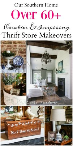 Thrifty Home Decor Makeovers