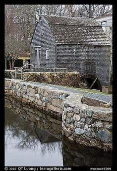 Dexter Grist Mill, Sandwich. Cape Cod, Massachussets.I would love to go see this place one day.Please check out my website thanks. www.photopix.co.nz
