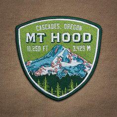 Mt. Hood patch