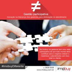 Aqui na Imobuy os gestores estão constantemente adotando processos de inovação, criando novas estratégias de acordo com mercado, buscando sempre o melhor atendimento para os nossos clientes. #ImobuyDiferente