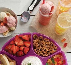 Summer is served. Bold and beautiful solutions for summer celebrations.
