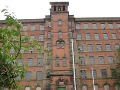 Old Mill in Leek, Staffordshire -August, 2009 Maine, Multi Story Building, Industrial, Street, News, House, Home, Industrial Music, Walkway