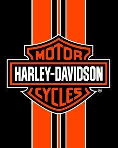 Harley Davidson Orange Stripe Bath, Pool, Beach Towel 54x68 Two Person LICENSED! #IslandGear