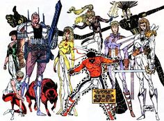 """The New Mutants Annual """"Volume 1, Number 6"""" (July, 1990) Art By Rob Liefeld"""