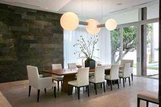 Sala de jantar super moderna