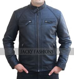 Buy this Style Motorbikers David Beckham Leather Jacket in discounted price with free gift only on Ebay | Shop with confidence.   #NewStyle #Motorbikers #DavidBeckham #LeatherJacket #awesome #model #moda #lifestyle #menswear #mensfashion #clothing #outfit #celebs #vintage #outfit #moterbiker #onlineshopping #leatherfashion #fashion #fashionlover #fashionblogger #stylish #style #memes #geek