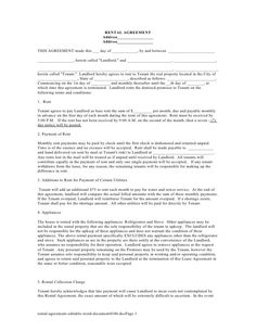 roommate agreement form