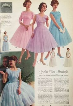 Montgomery Ward 1960s These are soooo pretty!