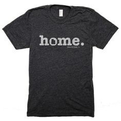 The Utah Home O Concept t-shirt is simple and unique. It