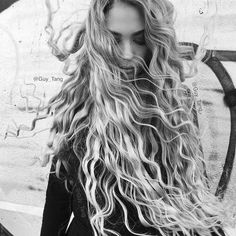 Embrace natural waves by letting your hair air dry
