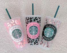 Starbucks Tumbler Cup, Starbucks Cup Design, Personalized Starbucks Cup, Custom Starbucks Cup, Personalized Cups, Starbucks Drinks, Coffee Cup Design, Starbucks Recipes, Diy Gifts For Christmas