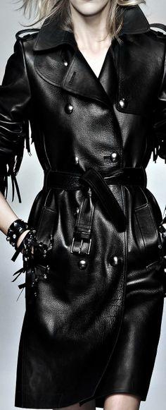 black leather ♥✤ | KeepSmiling | BeStayClassy