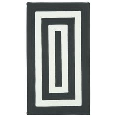 outdoor rug in square shape