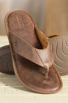 The Zain Sandals are made of premium full grain leather, and they're leather-lined for a soft, cushioned feel that makes walking a pleasure. #MensSandals