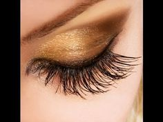 How to apply false lashes for beginners!  #beautytips #eyes #makeup - bellashoot.com