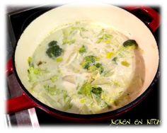 Koken en Kitch: Winterse groenten met kokosmelk en groene curry