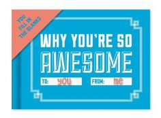 Knock Knock You're So Awesome Journal
