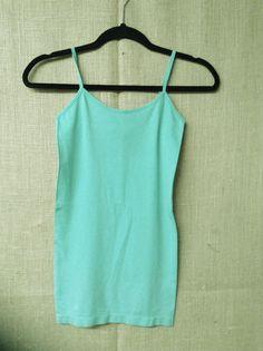 Mint Green Cami