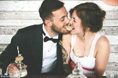 Hochzeitsinspiration: Natürlich and vintage-inspiriert in Leipzig-Plagwitz