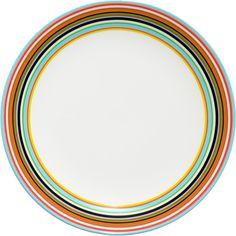 Iittala - Origo Plate 20 cm orange - Iittala.com