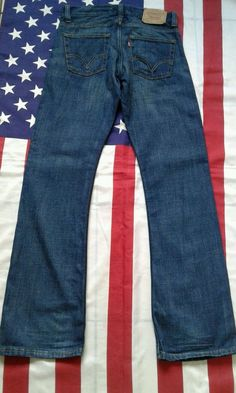 LEVIS 512 vintage Blue Bootcut Denim  Jeans W 31 L 34  | eBay