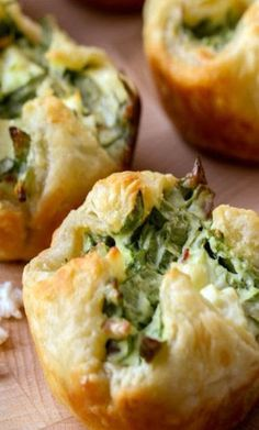 Spinach Cheese Puffs Recipe Spinach Cheese Puffs Recipe Original article and pictures take http://lilluna. com/spinach-cheese-puffs...