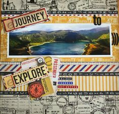 journey to explore - Scrapbook.com