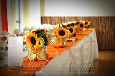 ötletes szines asztali dekoráció esküvő - Google keresés
