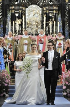 Crown Princess Victoria of Sweden and Daniel Westling