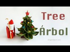 How to Make an Origami Christmas Tree | Leyla Torres - Origami Spirit