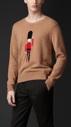 Guard Cashmere Sweater | Burberry