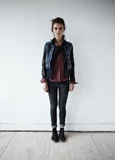 The Maison Scotch Lookbook KILLS it and embodies everything I love. Go look at it now.