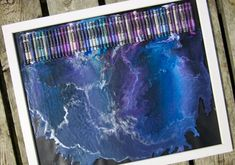 9 Inspired Ways To Create Melted Crayon Art