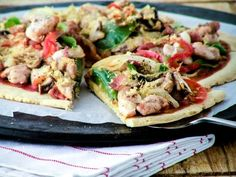 Updated picture of Almond Flour Pizza - Food: Clean Eating - Updated picture o. - Updated picture of Almond Flour Pizza – Food: Clean Eating – Updated picture of Almond Flour - Paleo Pizza Crust, Almond Flour Pizza Crust, Healthy Pizza, Low Carb Pizza, Healthy Eating, Bread Pizza, Pizza Food, Primal Recipes, Gluten Free Recipes