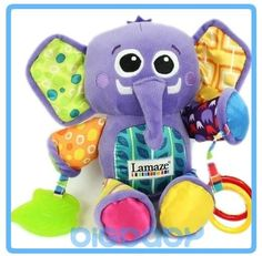 Aliexpress.com : Buy Gifts for Children's Day Children Kids Baby Toys Lamaze Elephant Teether Musical Developmental Soft Stuffed loop attach Plush from Reliable Lamaze Baby Toy Elephant suppliers on Women's Fashion Clothing  Dress Shop $10.99