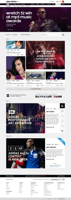 adidas / Go all in - Patrick Dubé / Interactive Art Director